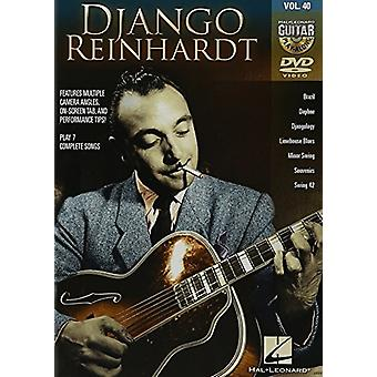 Django Reinhardt - Guitar Play Along 40 [DVD] USA import