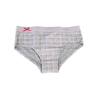 Datch Childrens Girls Checked Pattern French Knickers