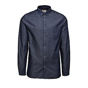 Jack and Jones Harry Marineblau Casual Shirt