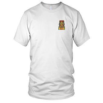 US Army - 14: e infanteriregementet broderad Patch - Vietnam menyfliksområdet Mens T Shirt