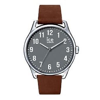 Temps de Ice-Watch glace Caramel grand Anthracite (013049)