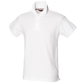 Skinni Fit Herren Club Polo-Shirt (mit Stay-Up Kragen)
