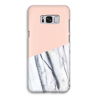 Samsung Galaxy S8 volledige Print geval (Glossy) - een vleugje perzik