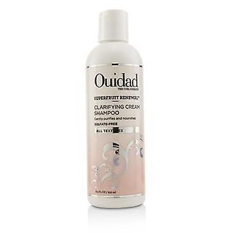 Ouidad superfruit Renewal verduidelijking crème shampoo (alle texturen)-250ml/8.5 oz