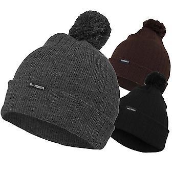 Chapeau d'hiver urbains classiques - BOBBLE BEANIE unisexe