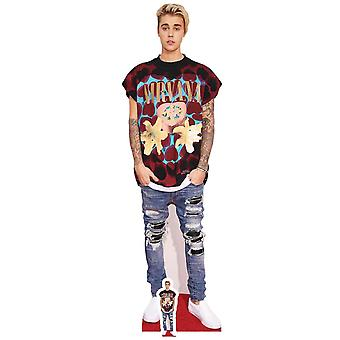 Justin Bieber Ripped Jeans Style Lifesize Cardboard Cutout / Standee
