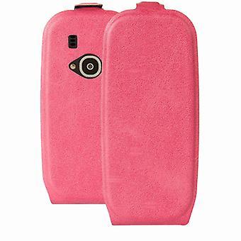 Premium Flip case lyserød til Nokia 3310 2017 ærme tilfælde dække beskyttelse tilbehør pose nye