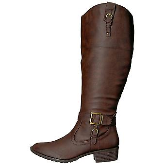 Rampage Womens ivelia Almond Toe Knee High Riding Boots