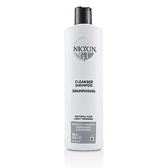 Nioxin Derma Purifying System 1 puhdistus aine shampoo (luonnollinen hius valo harvennus)-500ml/16.9 oz