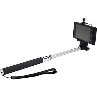 Dicota Plus Selfie stick 8.5 cm Black, Silver