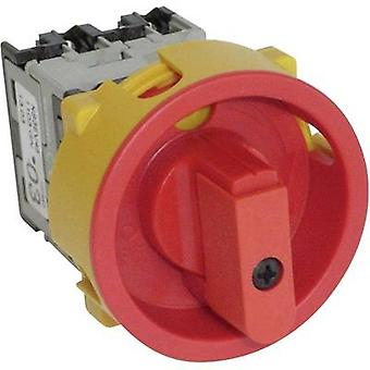 BACO NS3EV48 Isolator switch Lockable 20 A 400 V 1 x 90 ° Red, Yellow 1 pc(s)