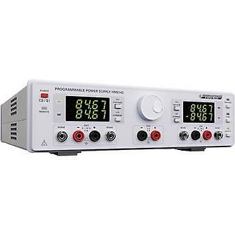 Rohde & Schwarz HM8143 Bench PSU (adjustable voltage) 0 - 30 V DC 0 - 2 A 130 W USB , RS232 programmable No. of outputs 3 x
