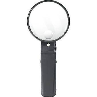 Stand magnifier Magnification: 2 x, 4 x Lens size: (Ø) 88 mm TOOLCRAFT 821010