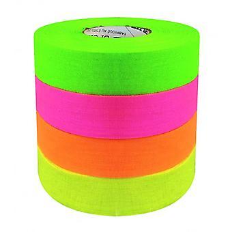 Color de neón de la cinta norteamericana 24mm / 27m