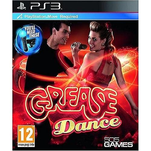Grease Dance Move PS3 Game