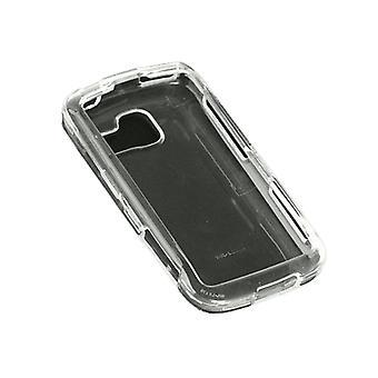 Technocel - hårda Snap-On fallet för LG Optimus S LS670 mobiltelefoner - Clear