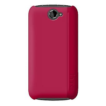 HTC - Hardshell Snap-on-Case für Google Nexus S - Magenta Pink