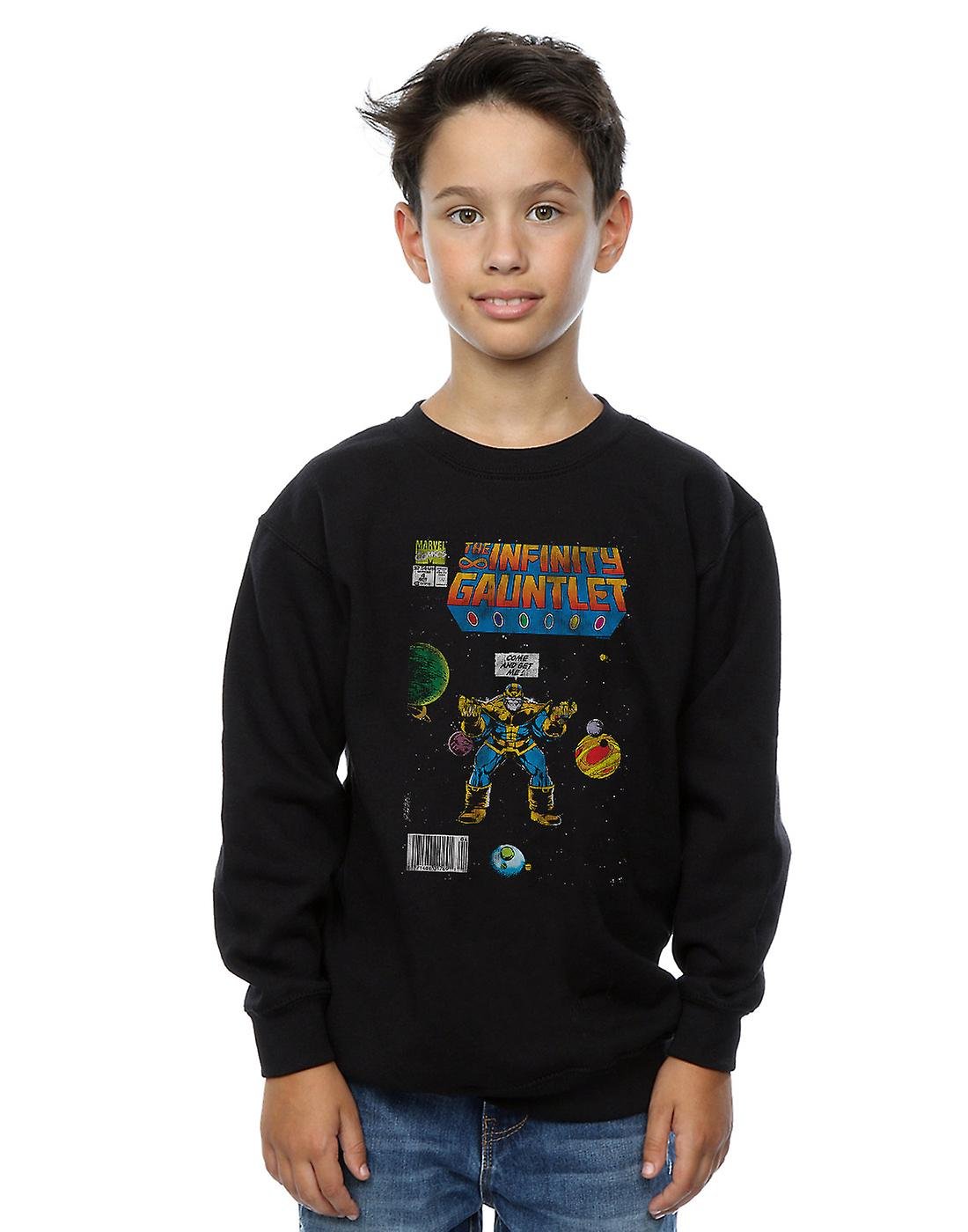 Marvel Comics Boys Infinity Gauntlet Sweatshirt