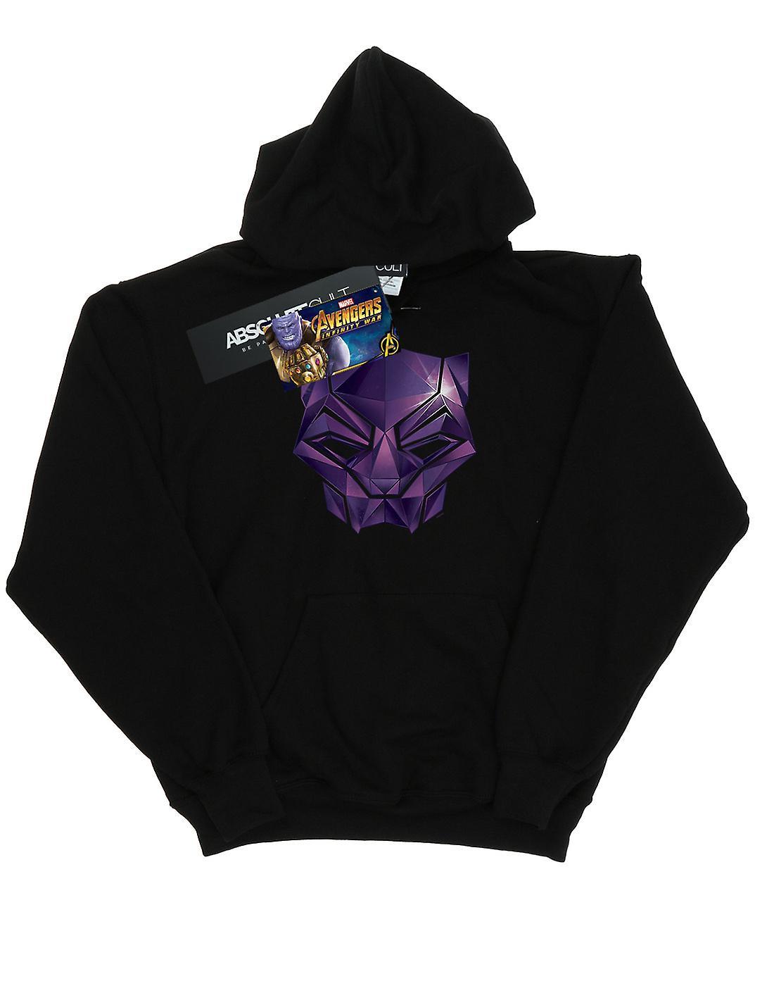 Marvel Women's Avengers Infinity War Black Panther Geometric Hoodie
