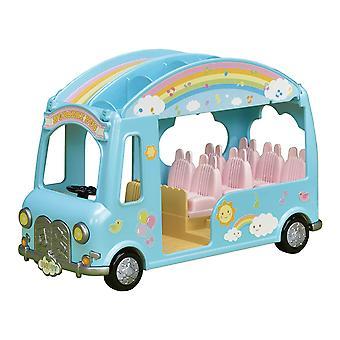 Sylvanian familier 5317 solskin børnehave Bus spil sæt