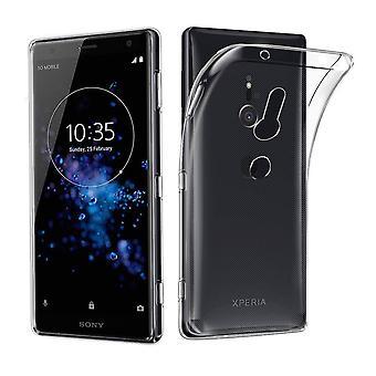 Ultratunn soft shell TPU Sony Xperia XZ3 doorschijnend