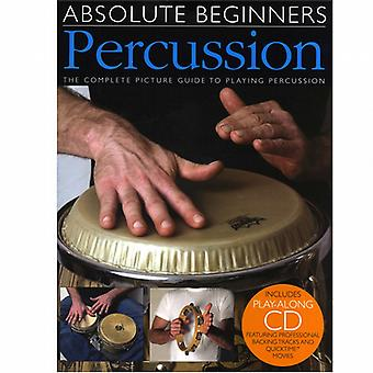 Absolute Beginners Percussion Book & CD