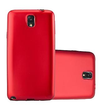 Cadorabo Case for Samsung Galaxy NOTE 3 Case Cover - Flexible TPU Silicone Case Case Ultra Slim Soft Back Cover Case Bumper