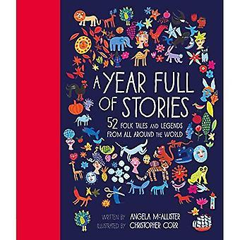 Ett år fullt av berättelser: 52 folksagor och legender från hela världen