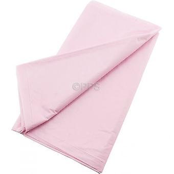 Pack de 2 cubiertas de tabla plástico rosa 54 pulgadas x 54' pulgadas de paño de tabla reutilizable
