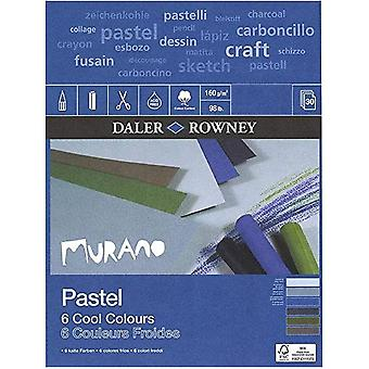 Daler Rowney Murano Pastel Cool Colours Pad 16