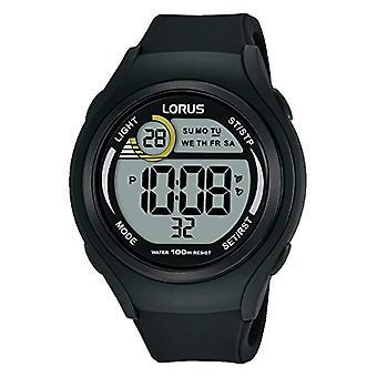 Lorus Quartz digitaal horloge Unisex siliconen polshorloge R2373LX9