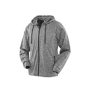 Spiro Ladies Hooded T-Shirt Jacket