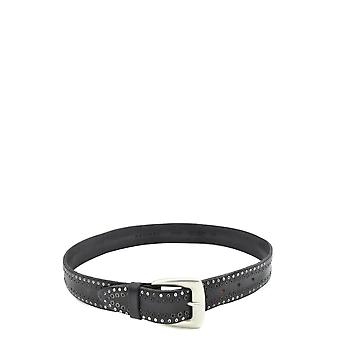 Orciani Ezbc136007 Men's Black Leather Belt
