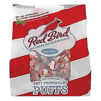 Czerwony ptak marki miękkie Peppermint kłęby Południowej Candy tłuszczu wolna torba 2 Pack
