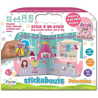 Fiesta Crafts Stickabouts Princess Castle