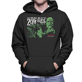 Hammer The Plague Of The Zombies Poster Men's Hooded Sweatshirt