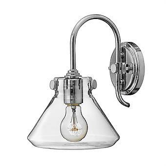 Stead-1 Light Indoor Glass Wall Light Chrome-HK/CONGRESeinhalbA CM