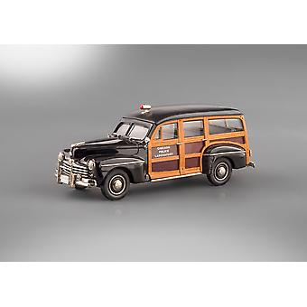 Brooklin Ipv45 1948 Ford V8 station wagon Chicago politie