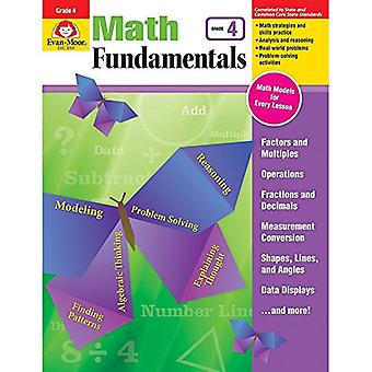 Math Fundamentals - Grade 4 by Evan-Moor Educational Publishers - 978