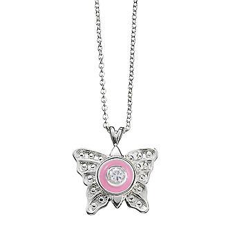 KAMELEON JewelPop pequena borboleta pingente de prata KP19