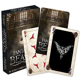 Fantastiske bæster spille kort