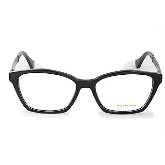 Balenciaga BA 5071 001 54 Square Cat Eye Eyeglasses Frames