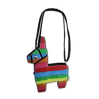 Colorful Rainbow Pinata Small Cross Body Purse