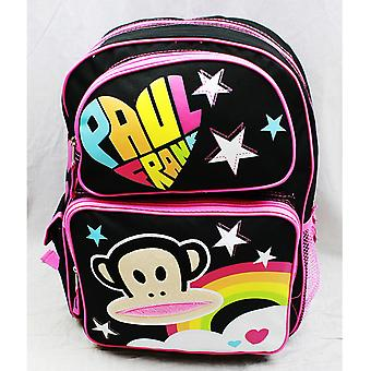 Backpack - Paul Frank - Black Rainbow Logo (Large School Bag) 82106
