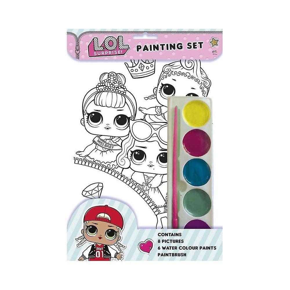 L. O. L överraskning! Målning aktivitets paket set