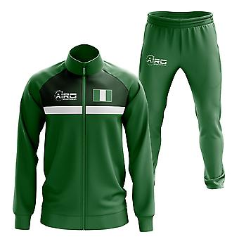 Nigeria Concept jalka pallo Tracksuit (vihreä)