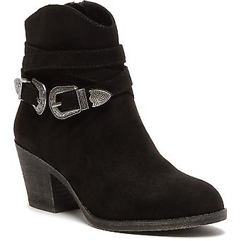 Rocket Dog Womens Sadea Chunky Heel Western Ankle Boots