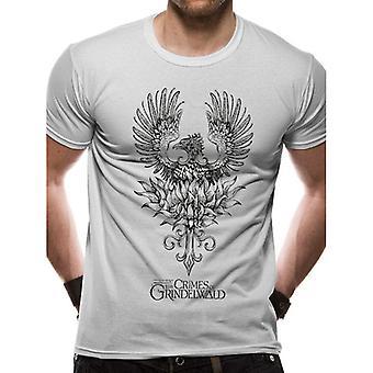 Crimes Of Grindelwald Unisex Adults Phoenix Print T-Shirt
