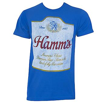 Hamm's Beer Distressed Label Tee Shirt