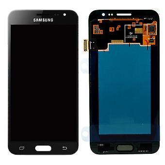 Display LCD complete set GH97-18414 C Black for Samsung Galaxy J3 J320F 2016